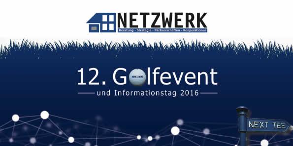 Titel Einladung NETZWERK Golfevent 2016