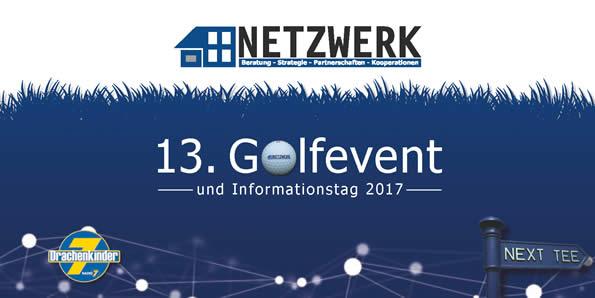 Titel Einladung NETZWERK Golfevent 2017