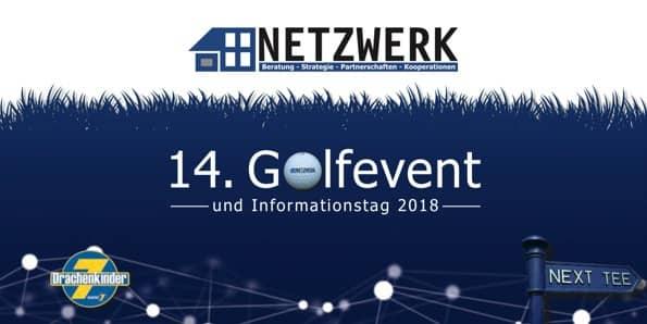 Titel Einladung NETZWERK Golfevent 2018
