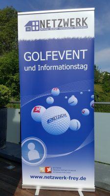Golf Roll up NETZWERK 3E-Datentechnik 2018