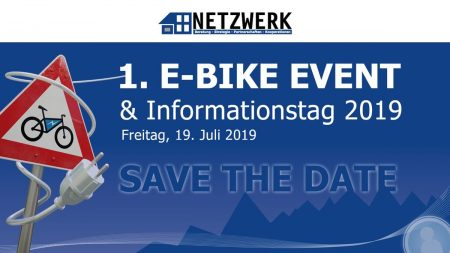 Save the date: 1. NETZWERK E-BIKE Event