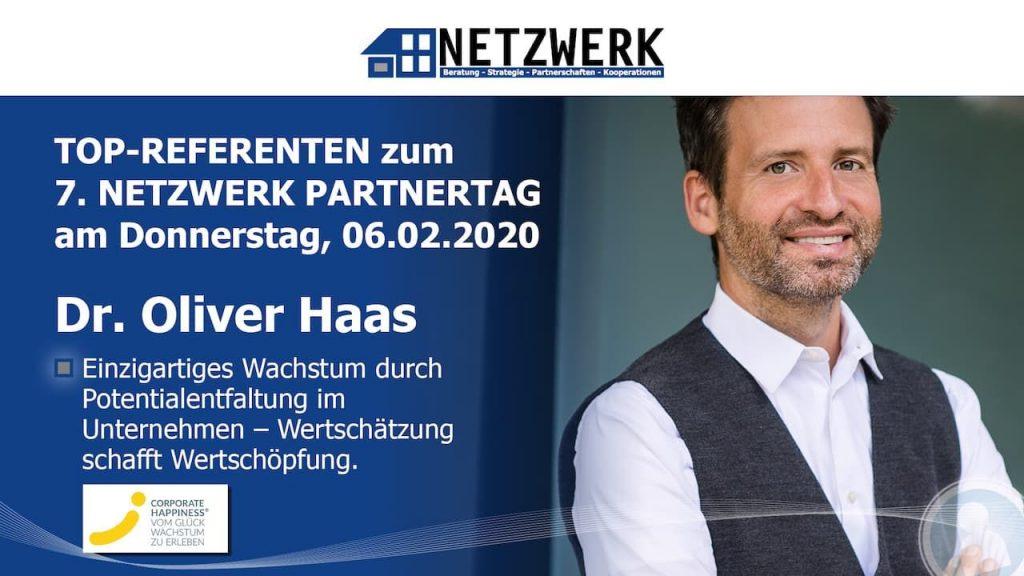 Top-Referent beim 7. NETZWERK Partnertag 2020