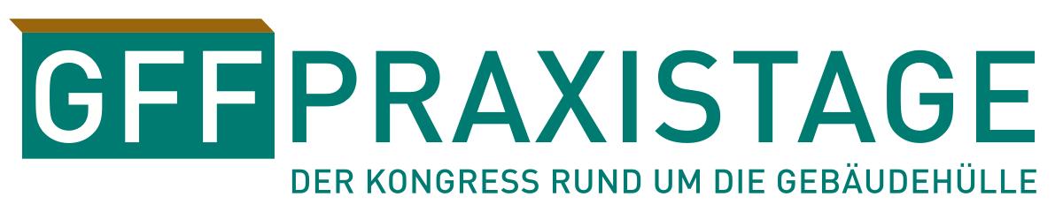 Logo: GFF Praxistage – Kongress rund um die Gebäudehülle