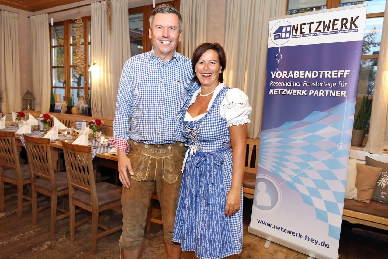 Oliver & Tanja Frey beim Rosenheimer Vorabendtreff