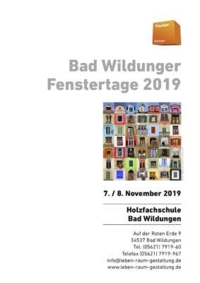 Bad Wildunger Fenstertage 2019