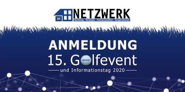 Titel Anmeldung NETZWERK Golfevent 2020
