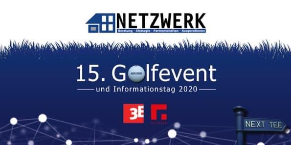 Titel Einladung NETZWERK Golfevent 2020