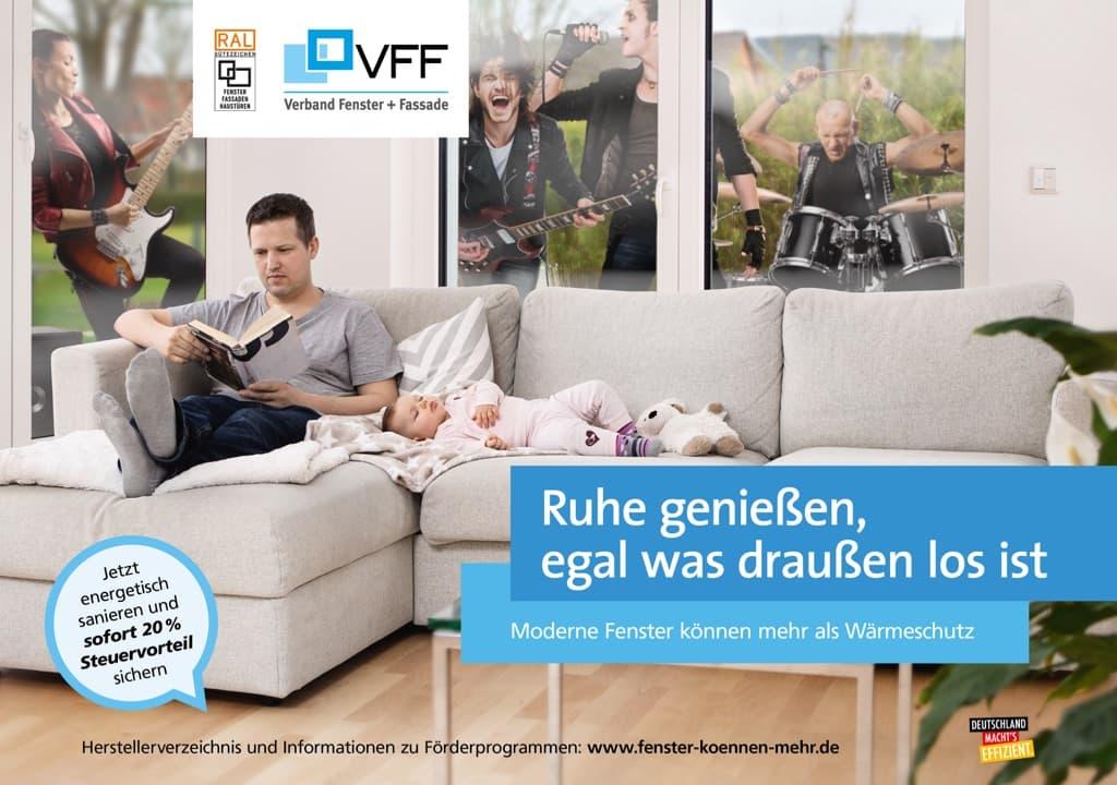 """Plakat der Kampagne """"Fenster können mehr"""""""