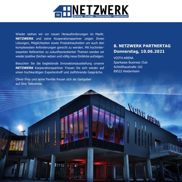 8. NETZWERK Partnertag am 10. Juni 2021 in der Voith-Arena