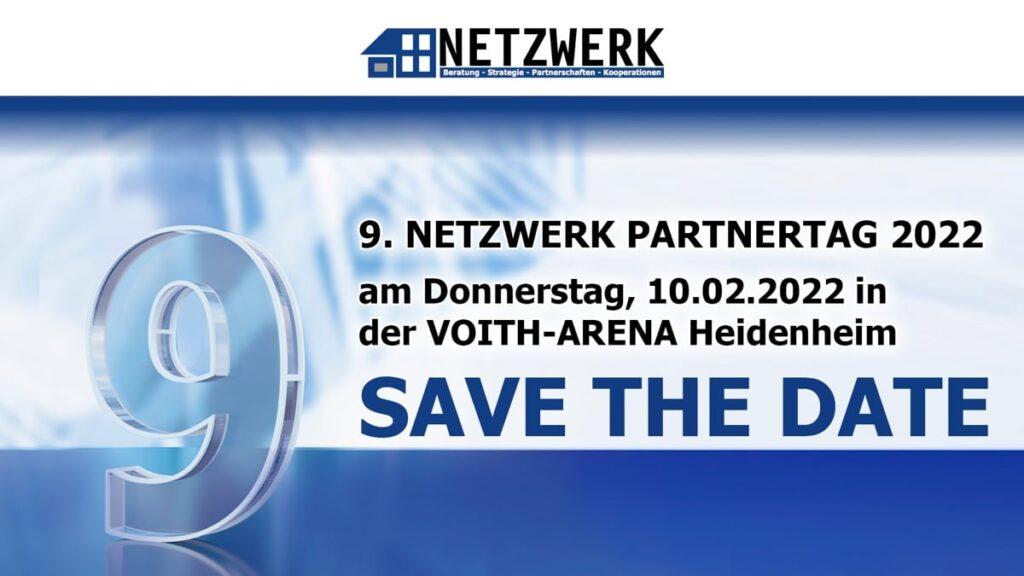 Save the date – 9. NETZWERK Partnertag 2022